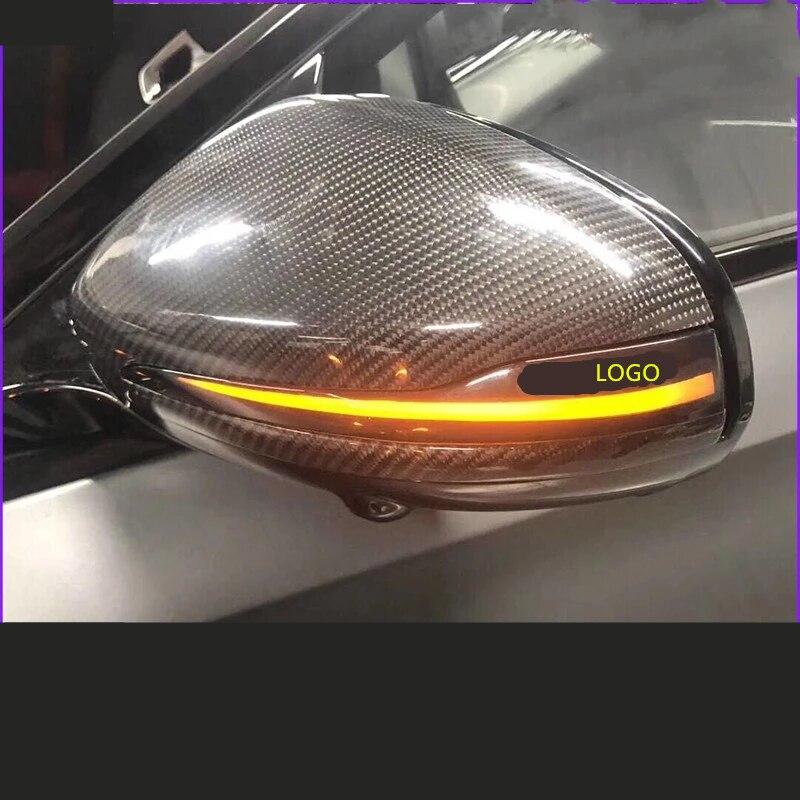 Indicador de espejo retrovisor dinámico para coche, luz intermitente para Mercedes Benz...