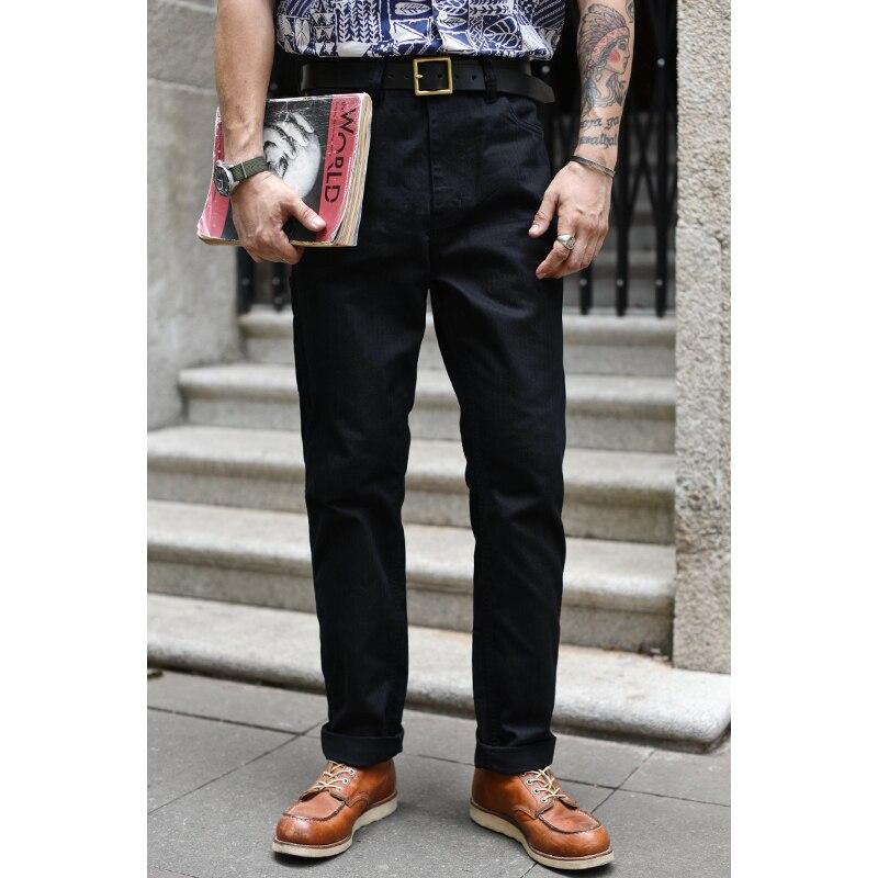 Saucezhan سراويل تقليدية السراويل البضائع الرجال متعرجة السراويل السوداء الرجال عالية الارتفاع سليم صالح خمر