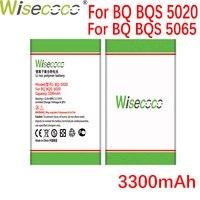Wisecoco BQS5020 Strike 3300mAh Battery For BQ BQ-5020 BQS-5020 BQ-5065 Phone Battery Replace+Tracking Number