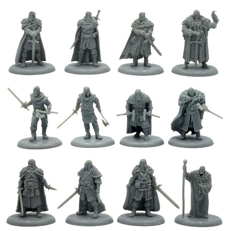 Game Of Thrones Resin Figure Model Kit Unassambled Wargame Miniature Modelling 54mm Figures Diorama