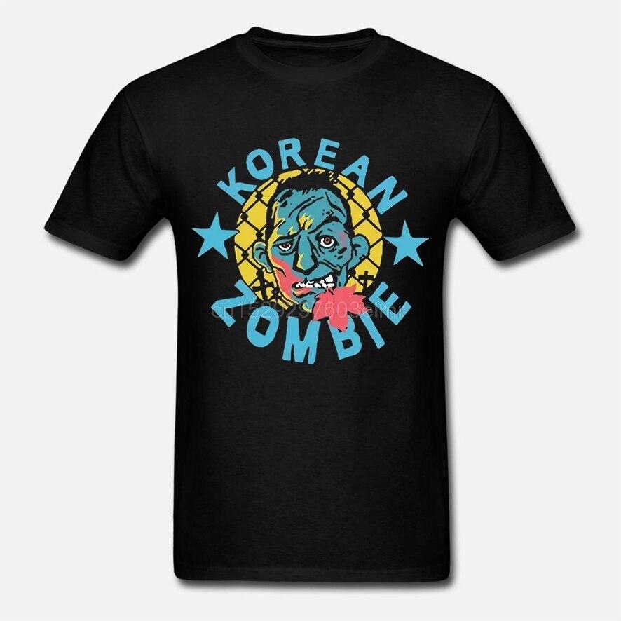 Nueva Camiseta de algodón de Zombie coreano para hombre [camiseta de 2 lados]