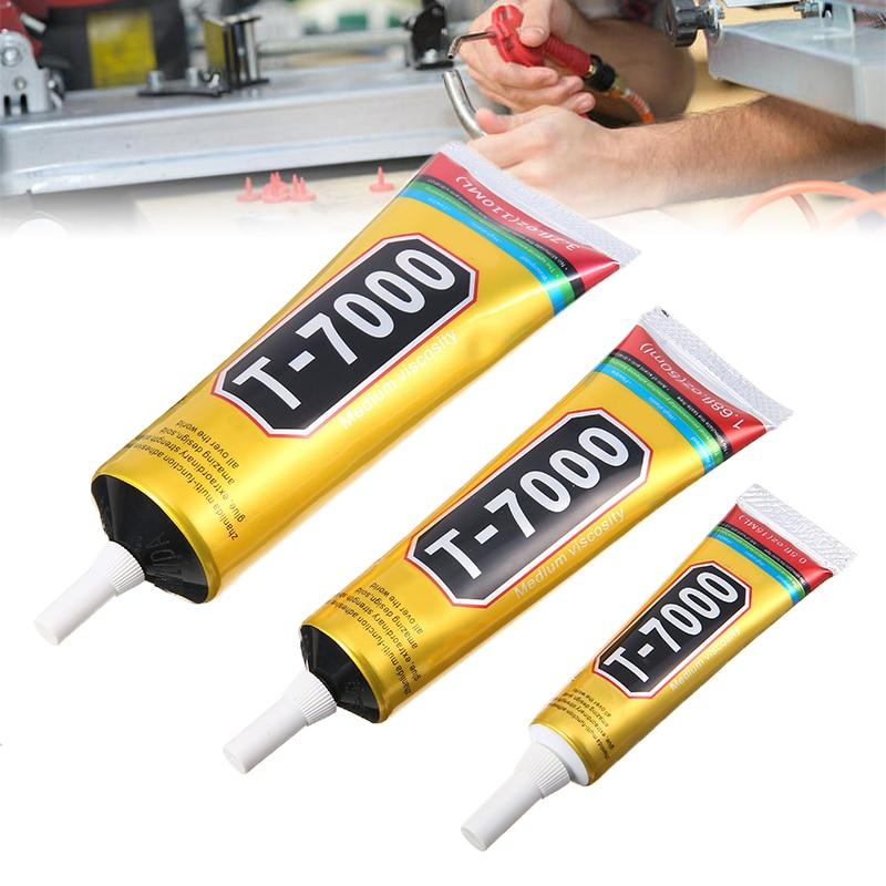 Pegamento adhesivo multiusos para reparación de resina epoxi, pantalla táctil LCD, joyería artesanal, 1x 15/50/100ML, T7000
