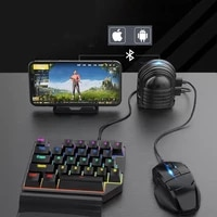 keyboard and mouse controller adapter for mobile phone no lagging gaming converter gamepad for android phones shooting games