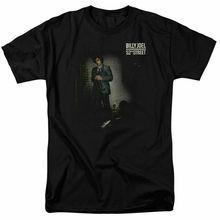 Billy Joel 52Nd Street t-shirt sous licence officielle groupe de Rock Merch t-shirt noir