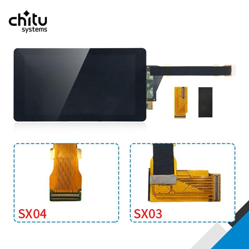 Sharp04 LS055R1SX04 With Glass protector MIPI To Sharp03  2K 5.5 inch SX04 LCD Resin For Photon Elegoo mars 3D Printer