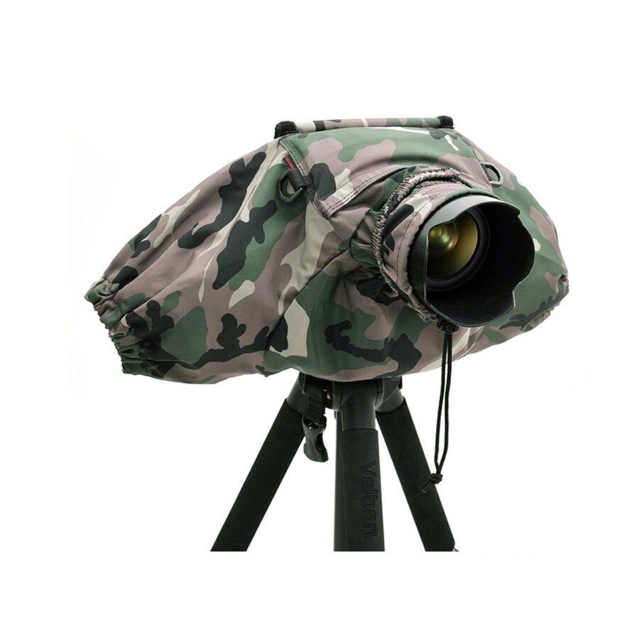 Capa de Chuva para Câmera Pendax à Prova Água e de Chuva Sony Nikon Olympus Dslr Slr Preto – d'