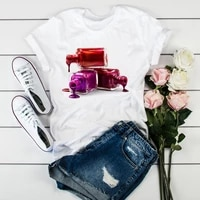 2021 women 3d paint beauty korean fashion clothes cute tshirts t clothes shirt womens ladies graphic female tee t shirt clothing