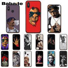 Babaite 2Pac Tupac Amaru Shakur Biggie étui de téléphone pour xiaomi mi5 6 A1 A2Lite Mi9 9SE mi8lite F1 Mix2 2S Max2 3