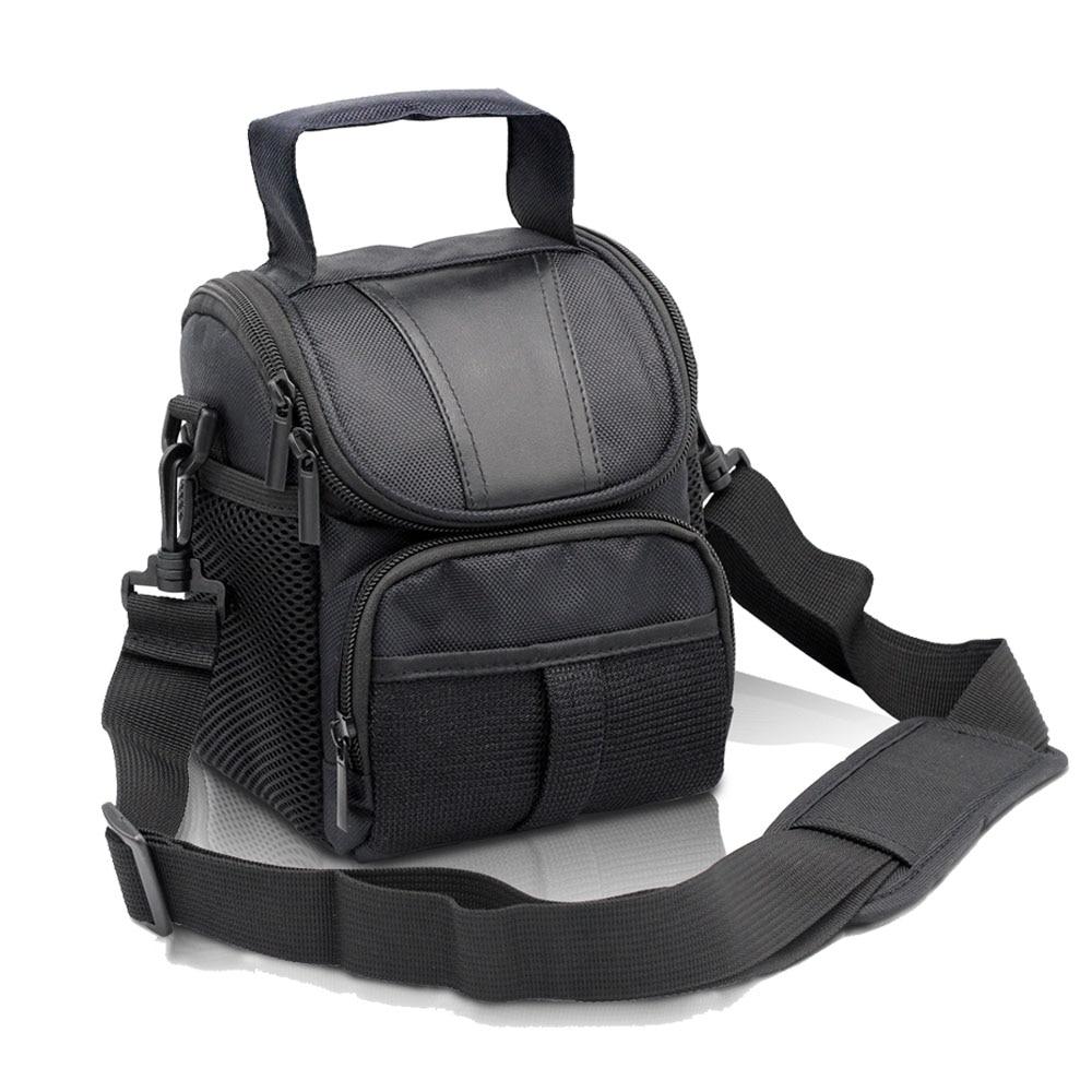 Fosoto DSLR bolsa tipo bandolera para cámara caso impermeable para Canon EOS 4000D 2000D 1500D 1300D 1200D 1000D 800D 760D 750D 700D 650D 450D