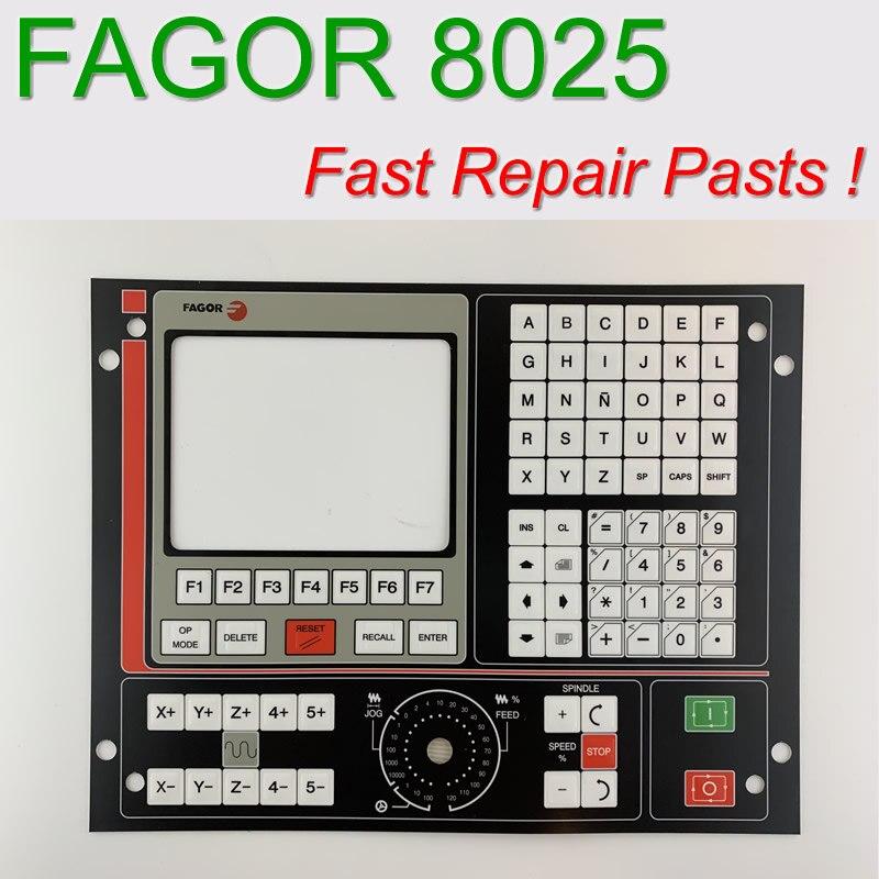 Fagor-8025T 8025 CNC HMI لوحة مفاتيح غشائية لإصلاح لوحة CNC ، متوفرة