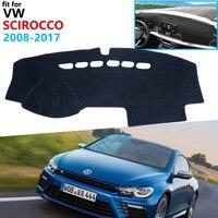 Dashboard Cover Protective Pad for Volkswagen VW Scirocco 2008~2017 Car Accessories Dash Board Sunshade Carpet 2010 2015 2016