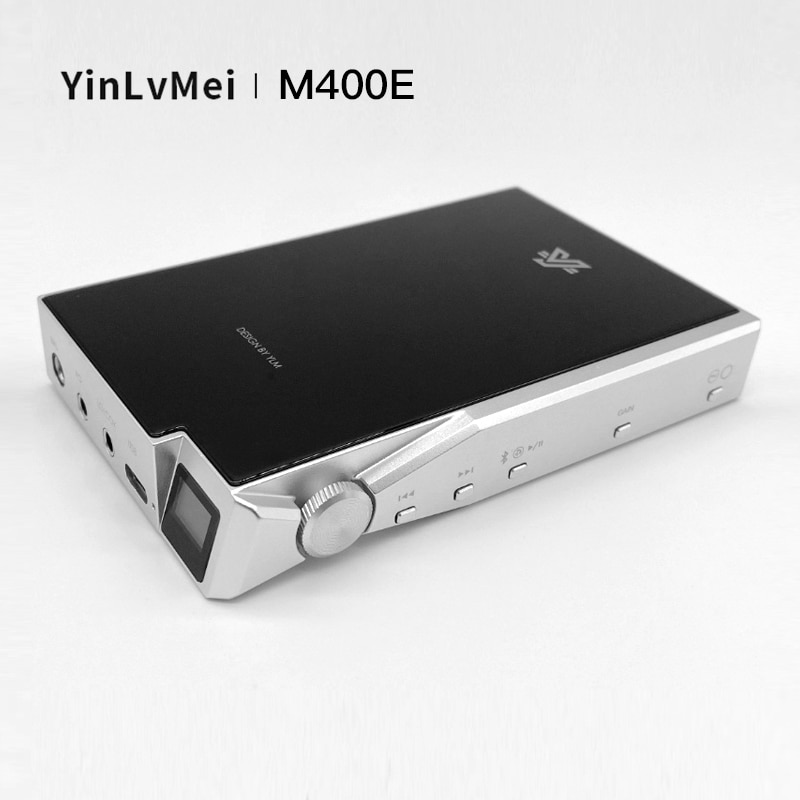YinLvMei M400E ESS9038pro DAC المتقدمة فك مضخم ضوت سماعات الأذن بلوتوث LDAC USB كارت الصوت 4.4 التوازن الكامل الناتج DSD512