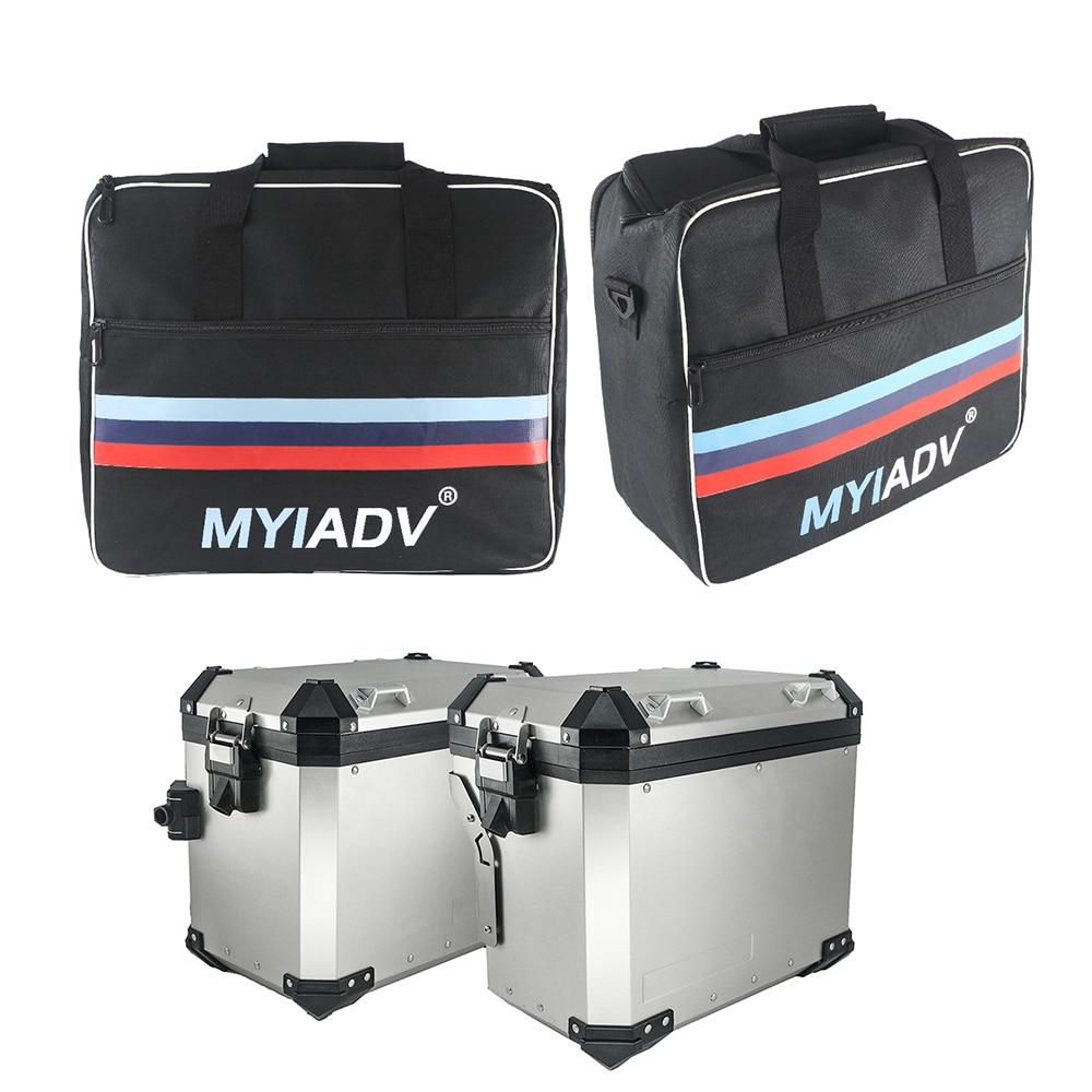 حقيبة الامتعة الداخلية للدراجات النارية BMW F850GS F750GS حقيبة R1200GS R1250GS ADV LC 2004-2020 قابلة للتوسيع حقائب السرج مقاوم للماء
