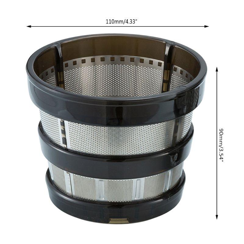 Filtro exprimidor, repuestos, colador grueso, reemplazos de malla fina para licuadora de HH-SBF11 Hurom HU-19SGM 4XFB