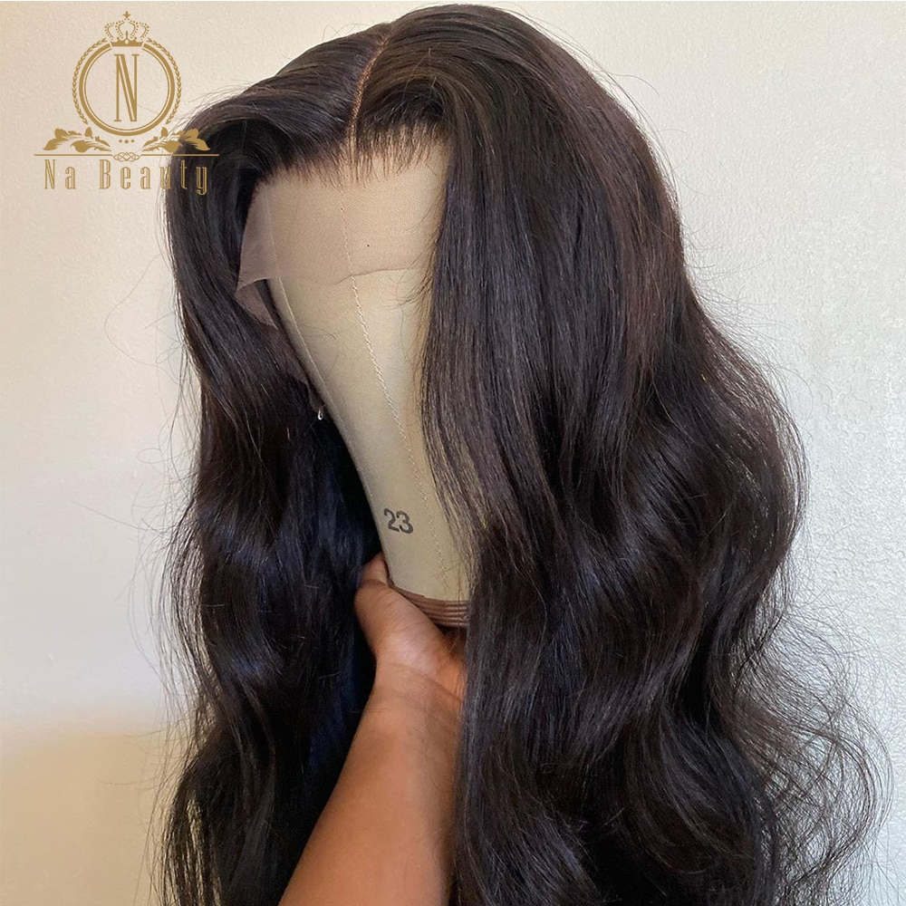 Nabeauty-شعر مستعار طبيعي مموج ، شعر بشري ، 250 ، 13 × 1 ، منتف مسبقًا ، دانتيل شفاف ، شعر أطفال ، شعر ريمي ، للنساء الأفريقيات