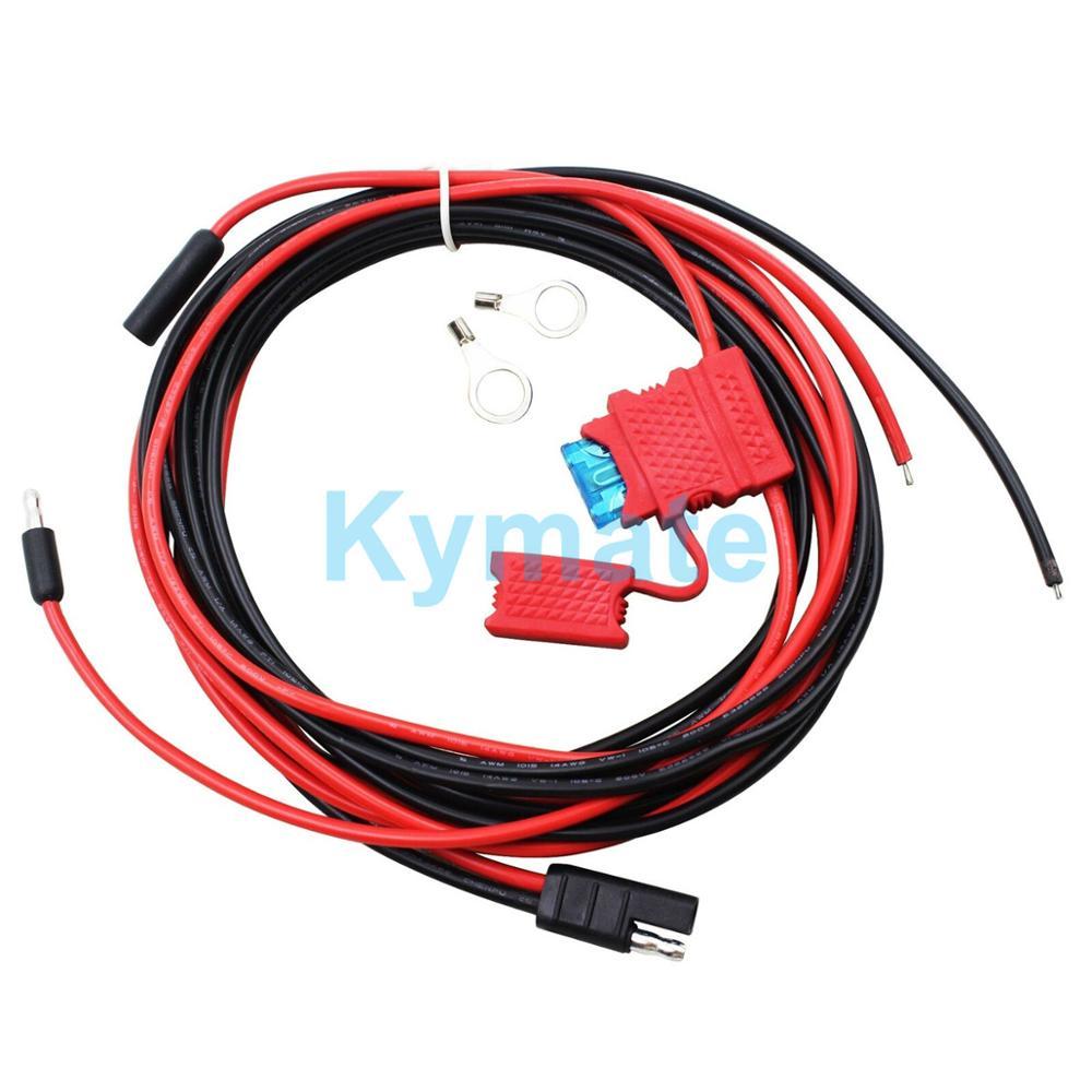 HKN4137A 12V 3M Power Cable for motorola GM300 GM338 GM340 GM360 M120 GM380 GM3188 GM3688 GM1280 GM140 Mobile Car Radio Walkie