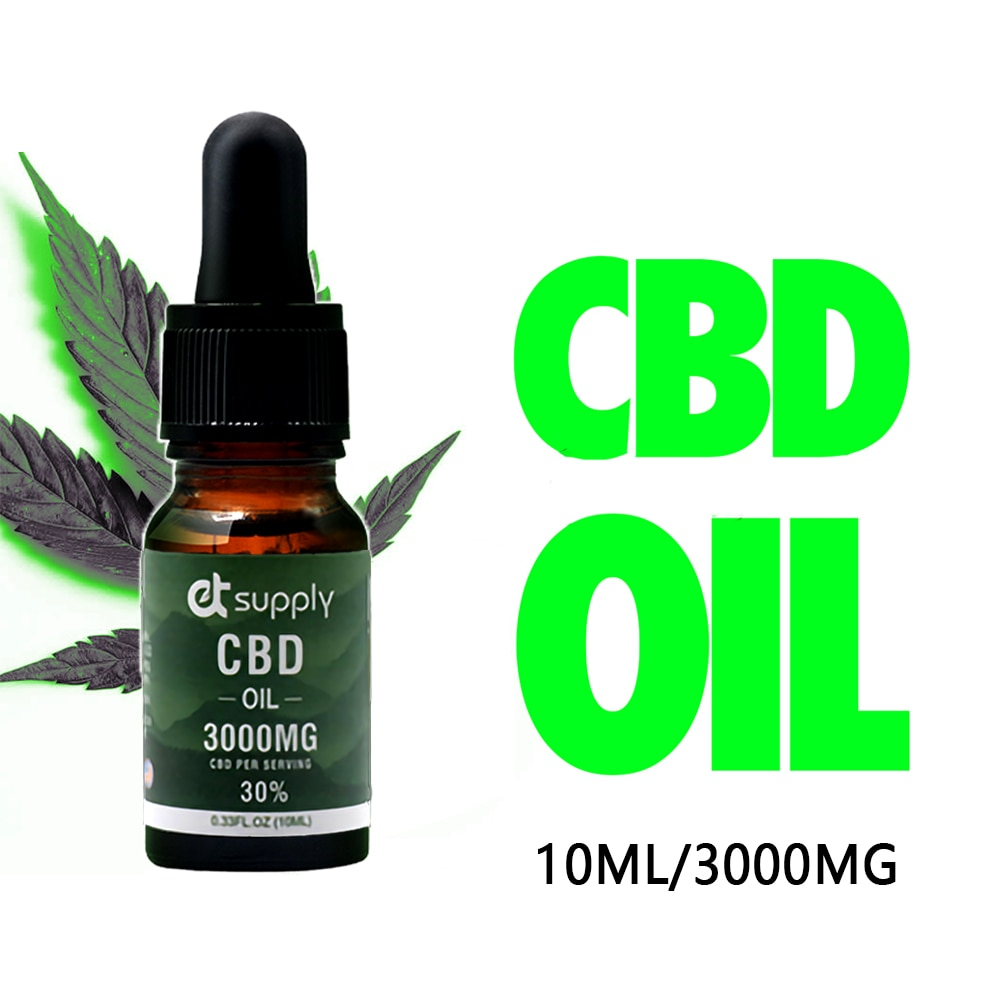10ml Best CBD Percentage Hemp Essential oil Quick and Effective for Chronic Pain and Insomnia and anti-anxiety enrich 3000mg cbd