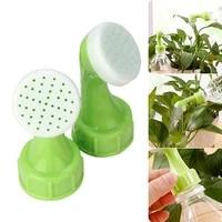 2pcs home garden spray water sprinkler portable plant garden watering nozzle tool practical watering bottle can sprinkler head