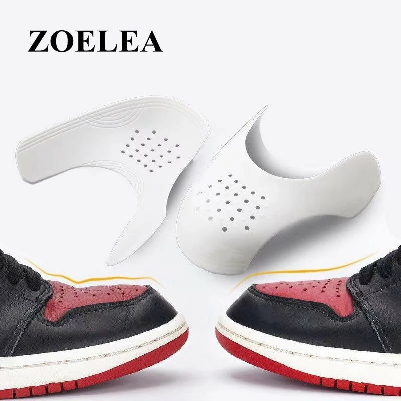 sneaker shields air force Sneaker Shields Anti-wrinkle Fold Shoes Support Shoes Toe Cap Practical Protector Dropshipping don shields growing up doughnut