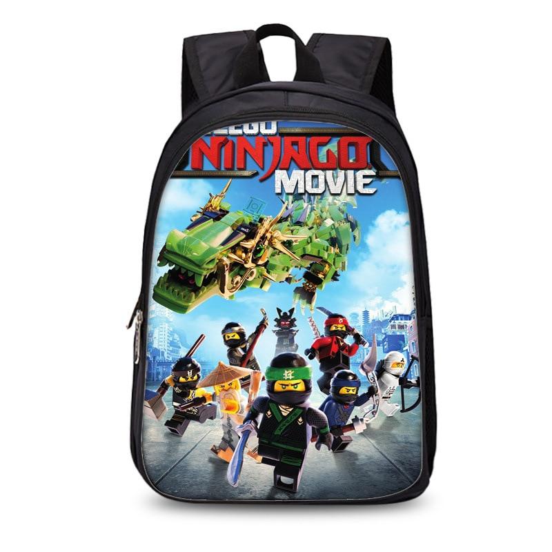Children School Bags ninjago Game Schoolbag for Boy Backpack Game Printing Book Bag Backpack for Teenagers