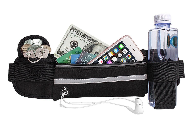 Women Men Belt Bag Running Waist Bag Sports Portable Gym Bag Hold Water Cycling Phone Bags Waterproo