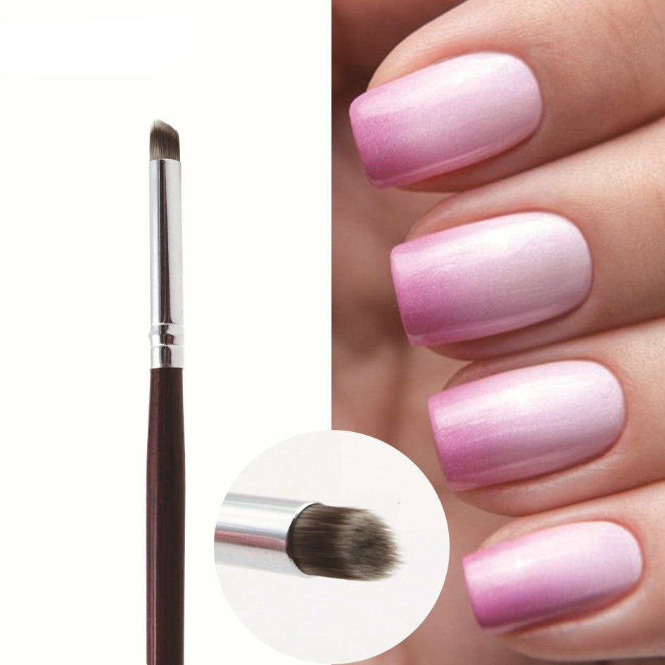 Nail Art Brush Nail Gradient Drawing Pen Paint Brush Nails UV Gel Oblique Mouth Brush Gradual Painting Pen Nail Art Design Tools