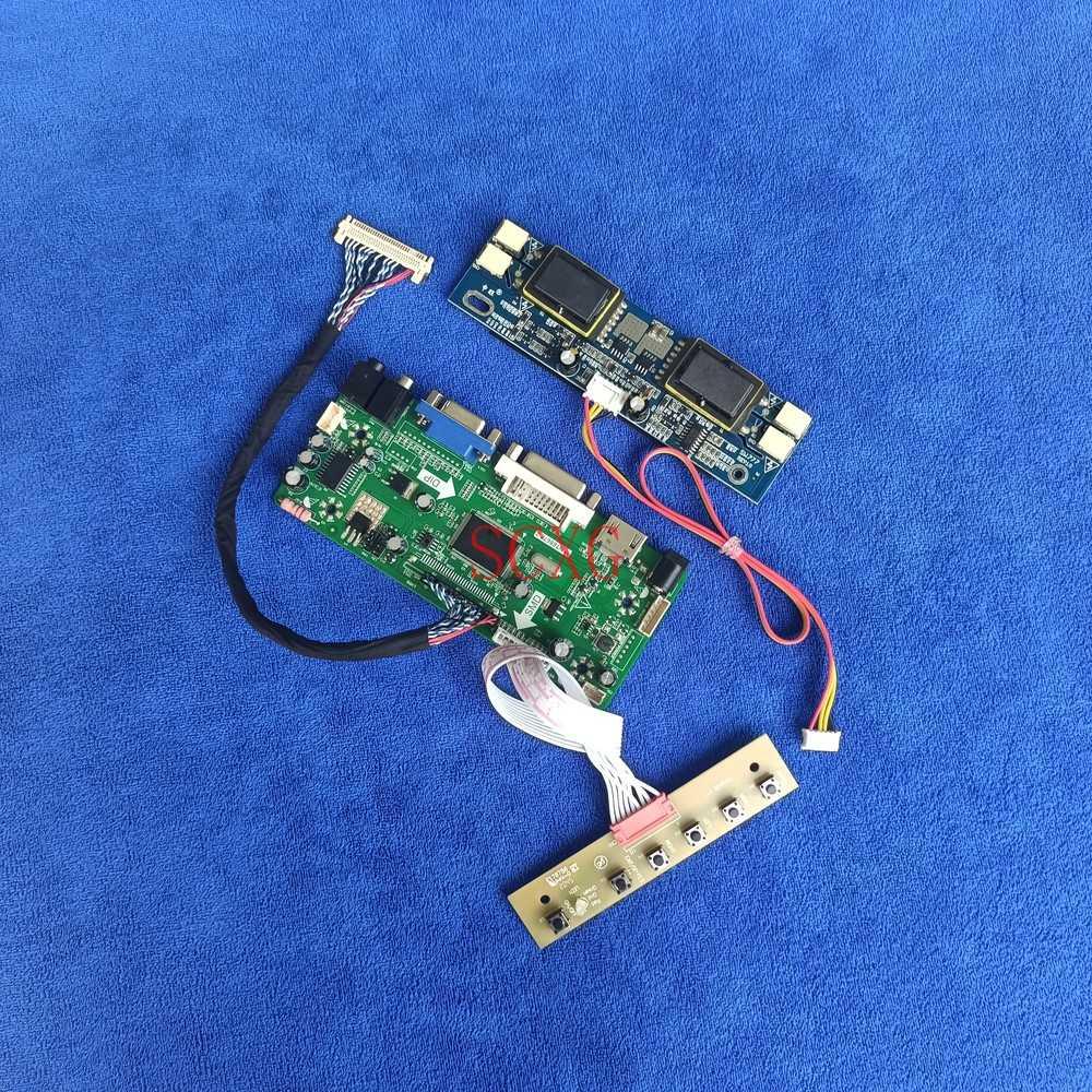 30 دبوس LVDS 1920*1080 ل LM230WF1-TLA3/TLE1 LM230WF2-SLA1/SLB1 M.NT68676 محرك مجموعة اللوحة HDMI-متوافق VGA DVI عرض 4CCFL