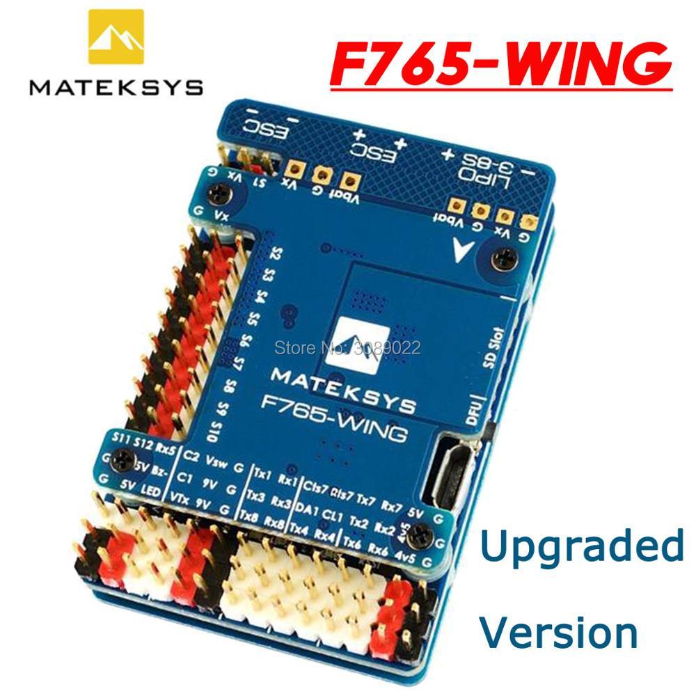 Matek Mateksys Полетный контроллер F765-WING F765 крыло для FPV гоночного дрона фиксированные крылья