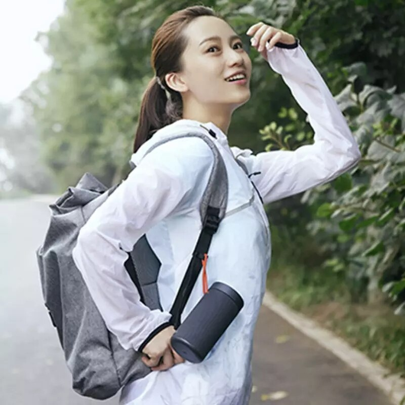 Hot sale Outdoor Bluetooth-compatible Speaker Wireless Dual Microphone Speaker MP3 Stereo Music Surround Waterproof Speaker enlarge