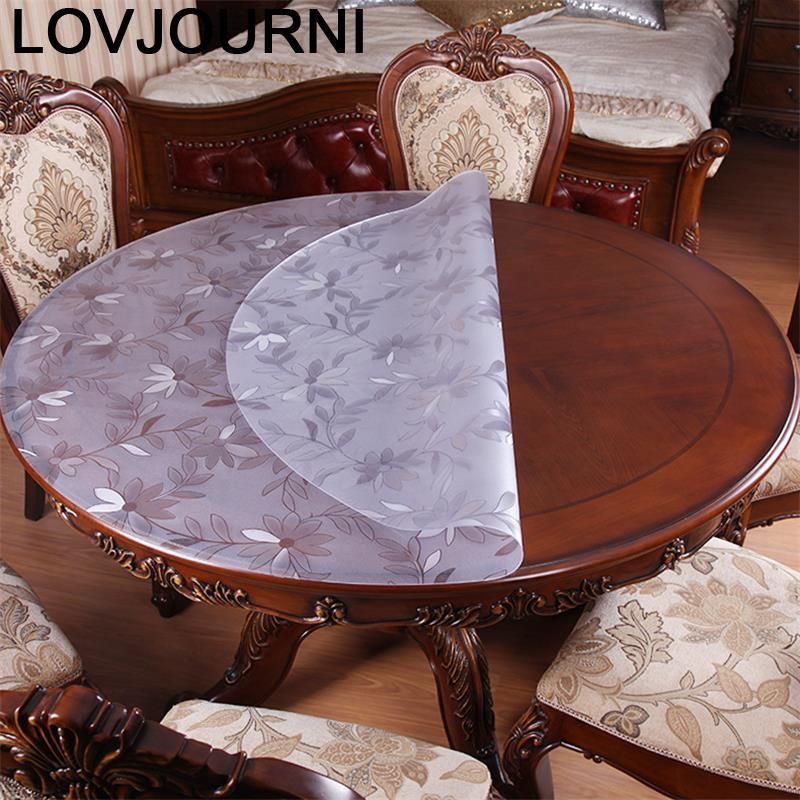 Mantel impermeable para Mesa De boda, artículo para el hogar Tafelkleed Rond, Mantel redondo, Manteles, cubierta De PVC, Mantel De Mesa