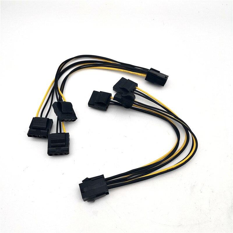 2 шт., кабель-разветвитель для видеокарты