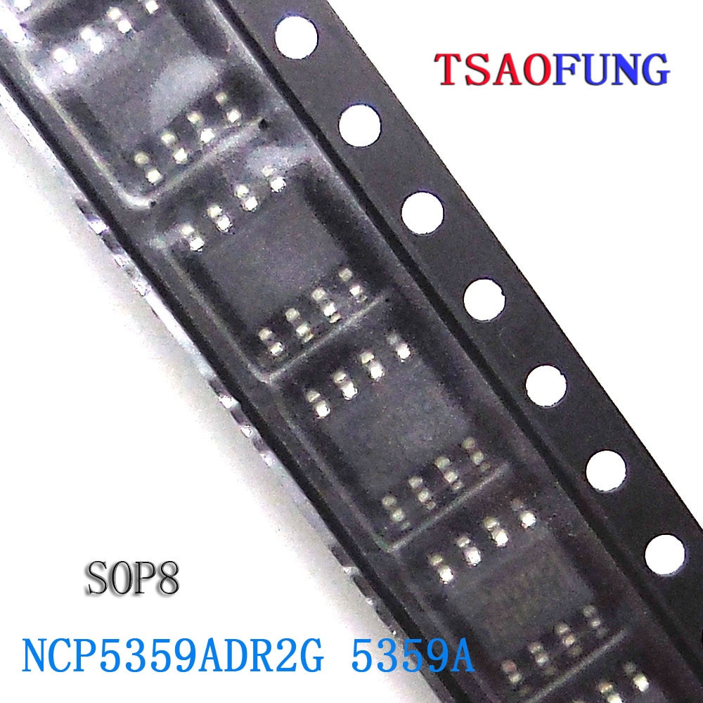 5Pieces NCP5359ADR2G 5359A SOP8 Integrated Circuits Electronic Components
