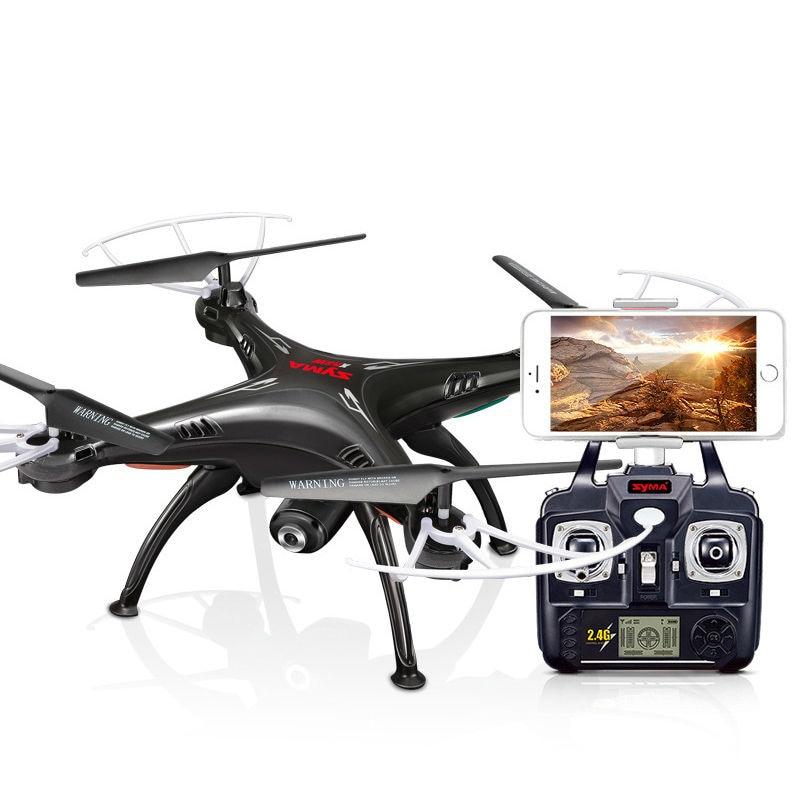 Syma X5SW 2.4Ghz 4CH 6Axis Gyro RC Quadcopter with HD Wifi Selfie Camera Mini Drone UFO Classic Helicopter Gift for Beginner Boy enlarge