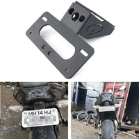 Fit For KAWASAKI Z650 Ninja 650 2017-2019 Motorcycle Fender Eliminator kit Motorbike Rear Tail Tidy Number License Plate Holder