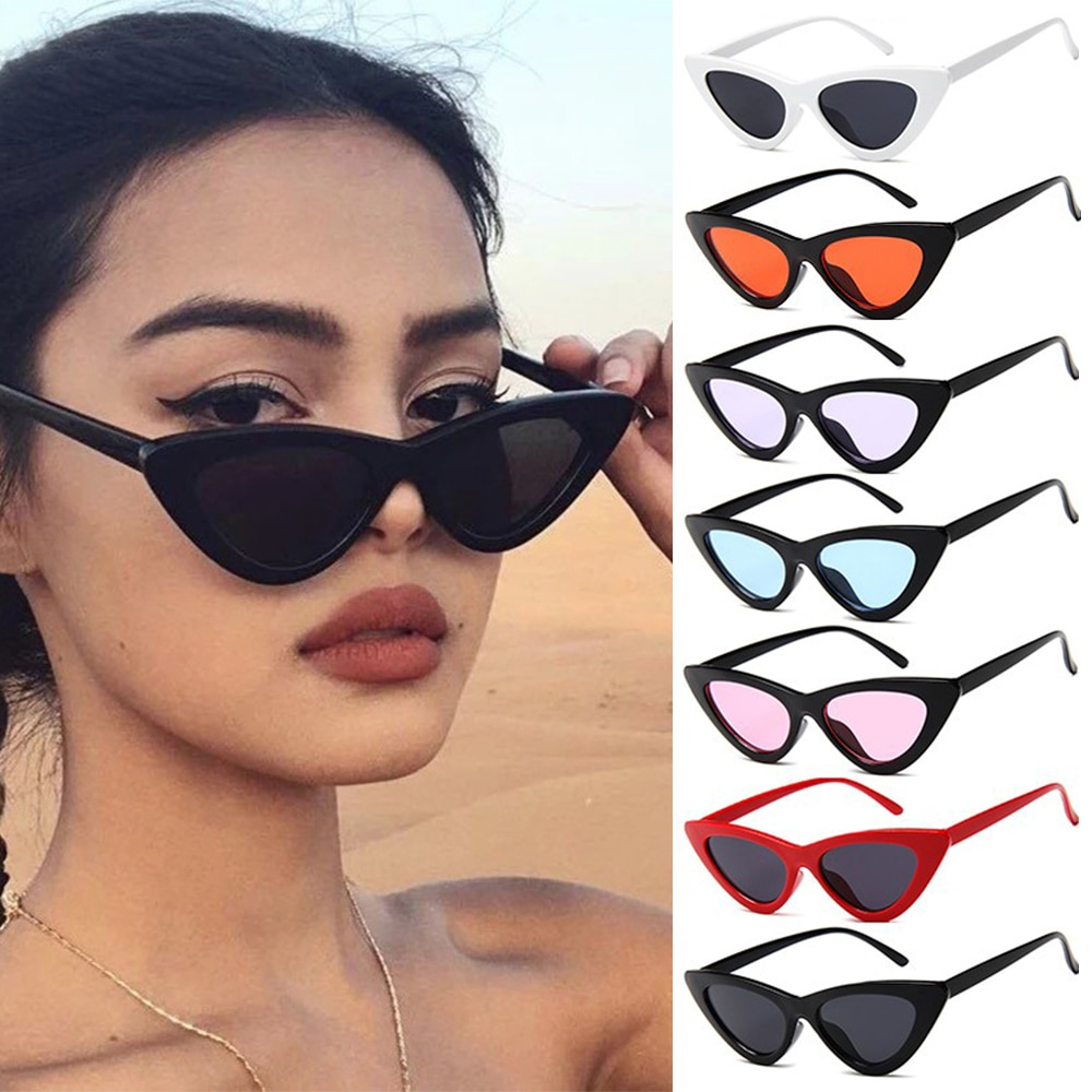 2021 Summer Fashion Sunglasses Small Frame Okulary UV400 Shades Polarized Vintage Eyewear Outdoor Sun Protection Sun Glasses outdoor full frame flat lens sun shades sunglasses