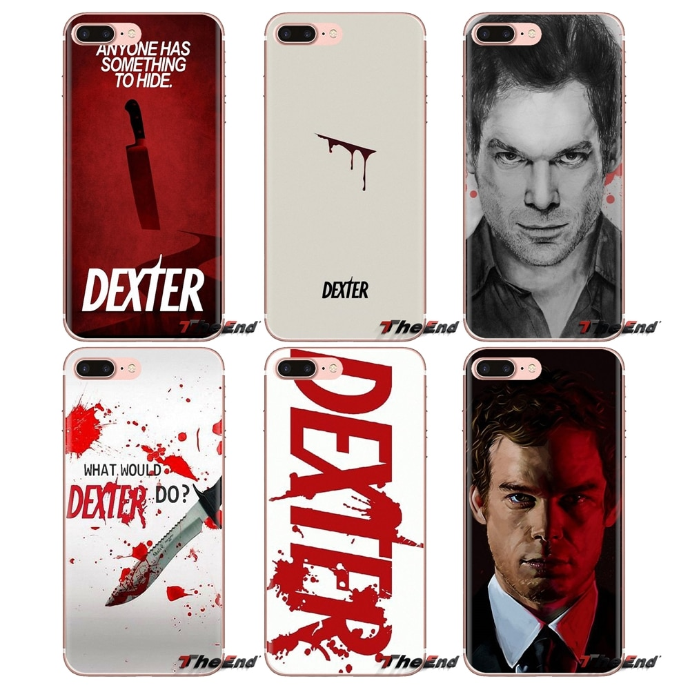 Для iPhone XS Max XR X 4 4S 5 5S 5C SE 6 6S 7 8 плюс samsung Galaxy J1 J3 J5 J7 A3 A5 Soft Shell Крышка Dexter Morgan крови крест
