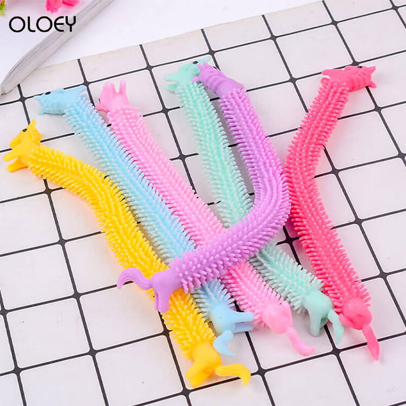 Unicorn Fidget Toys Popit 19CM Fidget Indoor Fitness Tools Simple Dimple Functions Like ThisToy Monkey Noodles Stress Toy enlarge