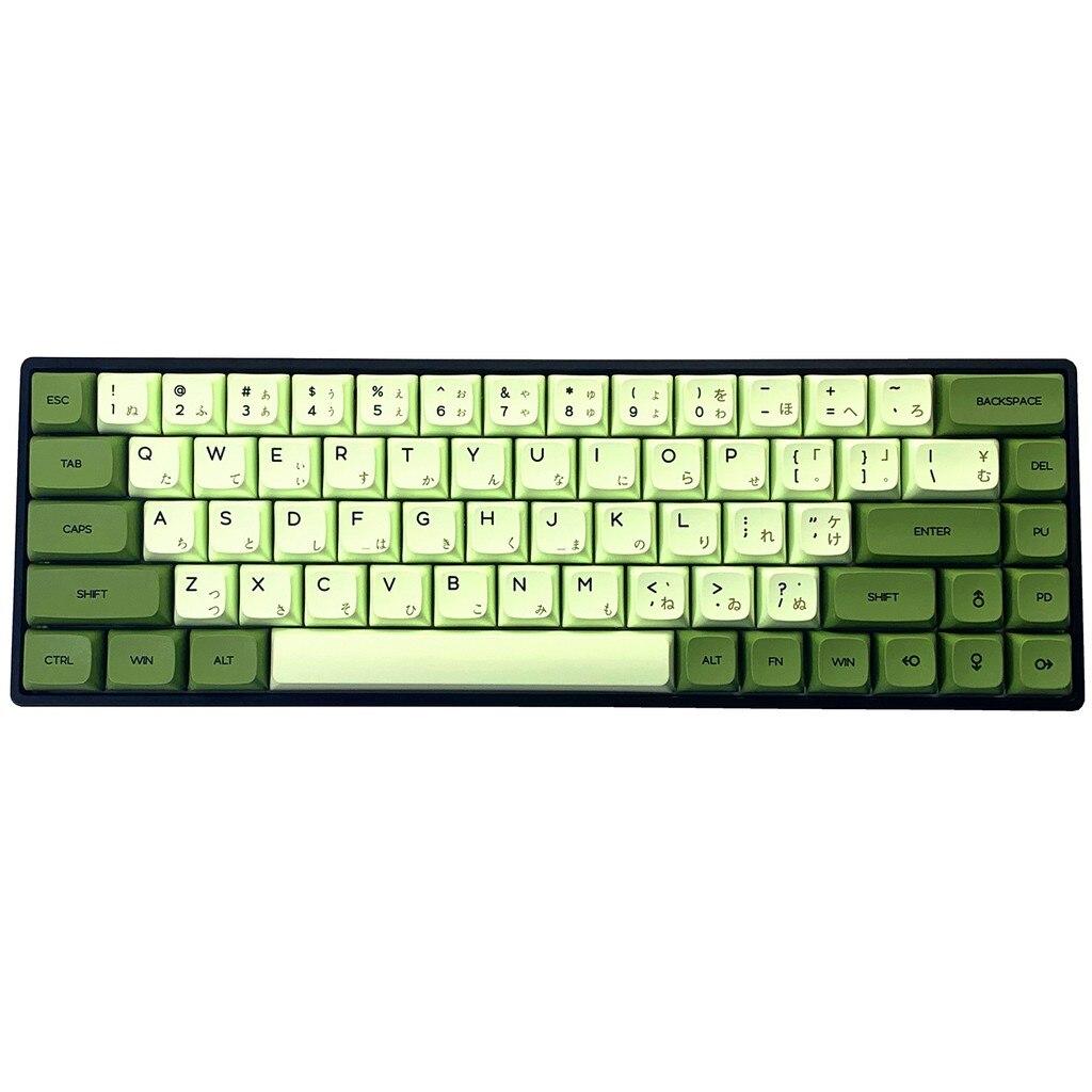 HF Gaming 127 مفتاح التسامي PBT مماثلة XDA الملف الشخصي مماثلة ماتشا اليابانية كاي كابس ل شيري MX لوحة المفاتيح الميكانيكية الألعاب k