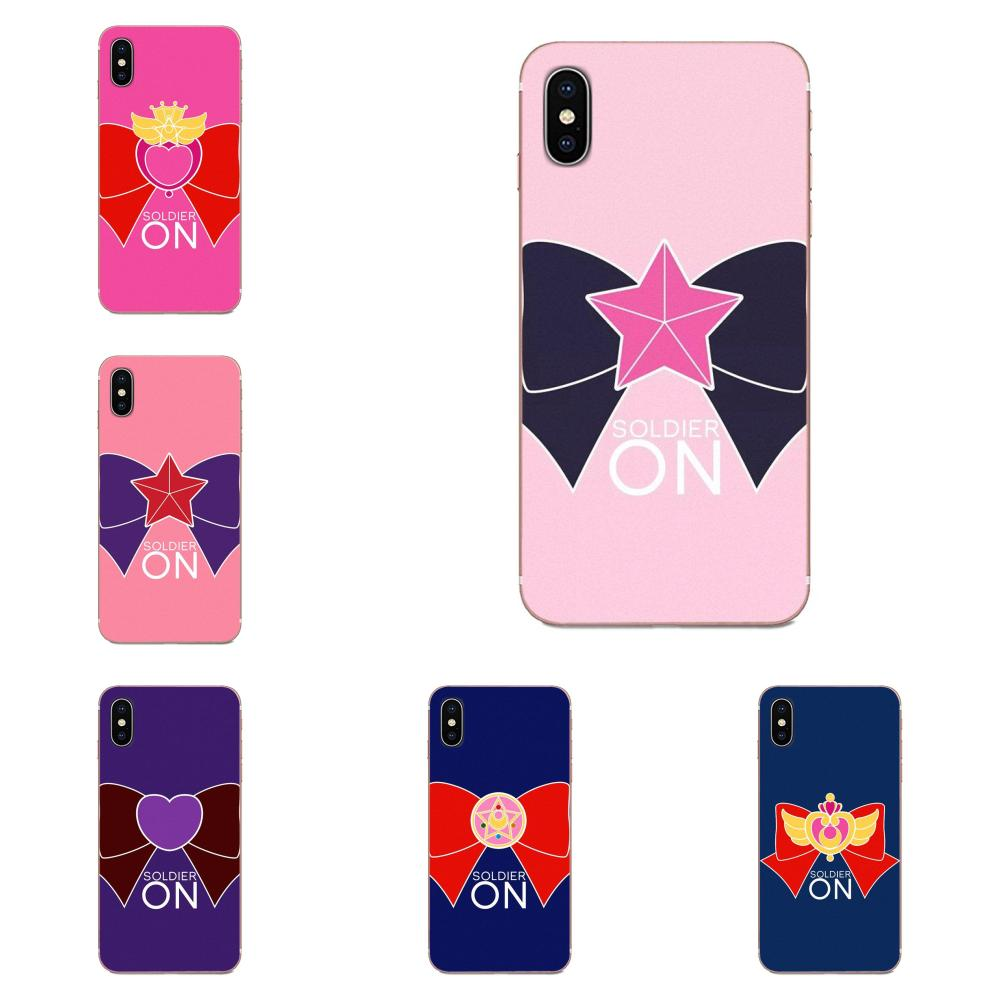 For LG G3 G4 G5 G6 G7 K4 K7 K8 K10 K40 K50 Q6 Q60 V10 V20 V30 V40 Nexus 5 5X 2017 Hot Selling Fashion Sailor Moon Logo