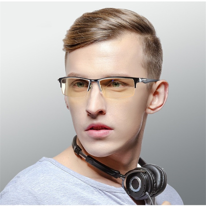 Компьютерные очки cubojue, мужские и женские очки с защитой от синего излучения и желтыми линзами, защитные очки для глаз для игр