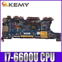 original laptop motherboard for dell latitude 7470 e7470 i7 6600u mainboard cn 0vnkrj 0vnkrj aaz60 la c461p sr2f1 cpu