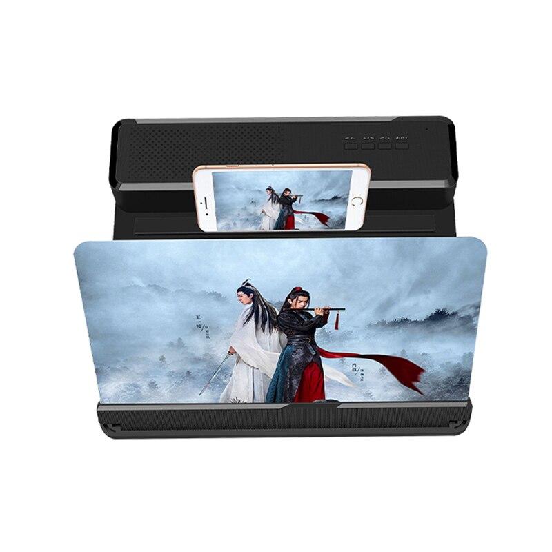 2020 nuevo cinemax para móvil 3D teléfono móvil pantalla lupa Bluetooth Estéreo altavoz HD Video amplificador jk6