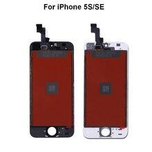 AAA + + + écran LCD pour iPhone 5 5s 6 6s 6plus remplacement de lécran tactile 3d pour iPhone 7 lcd pas de Pixel mort + outil