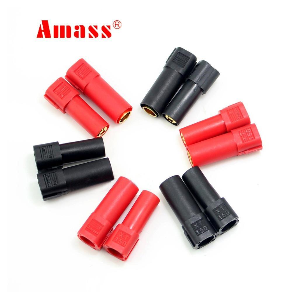 Youme 6Pairs XT150 Connector Adapter XT150 Converters Man Vrouw Plug 6Mm Gold Banana Bullet Plug