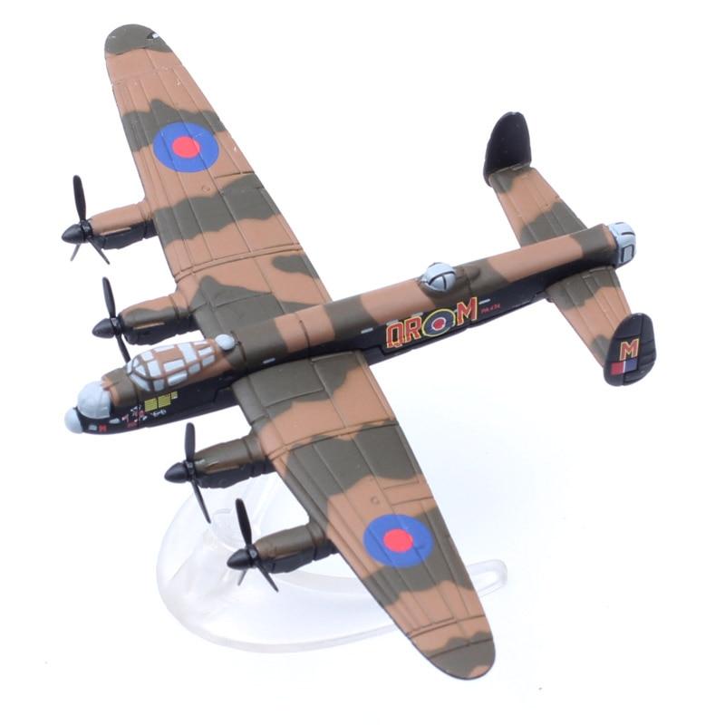 1260, mini avión de combate clásico corgi CS90276 BBMF Avro Lancaster PA474, modelo de metal fundido a presión y vehículos de juguete, avión para niños