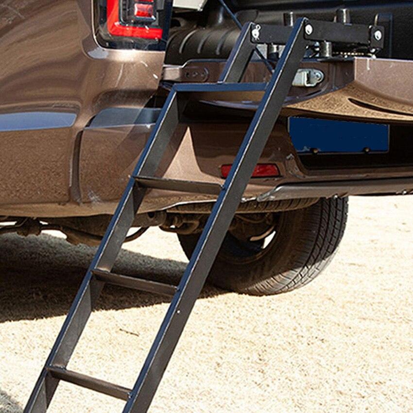 Универсальная лестница для задних ворот пикапа, дверей автомобиля, защитная рама, складная лестница, дополнительна...
