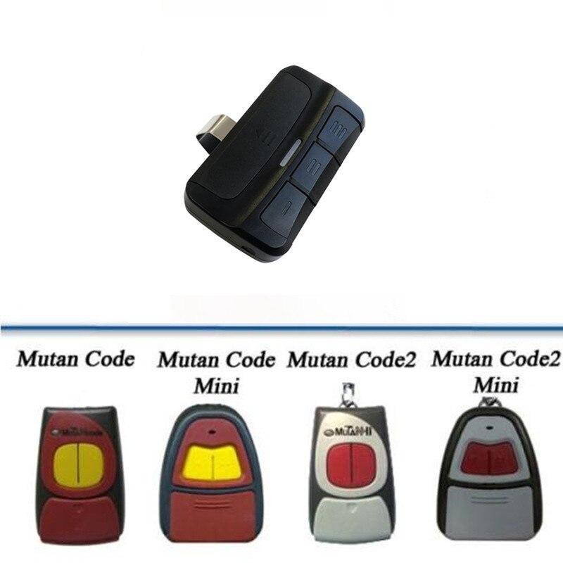 Clon de puerta de garaje a control remoto de 433,92 MHz de CLEMSA MUTAN, Código Maestro de Frecuencia múltiple de 287 a 868MHZ, mando a distancia para puerta