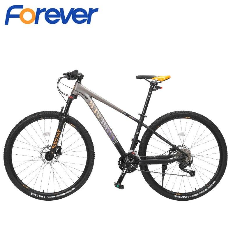 Forever fm027b adulto ao ar livre offroad mountain bike 29 Polegada roda 27 velocidade de viagem estrada bicicleta esportes dos homens ciclismo corrida passeio