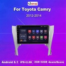 Toyota Camry-2 go RAM 32 go ROM   10.1 pouces, plein écran tactile 2,5d, Android 8.1, Navigation GPS, 2012-2014