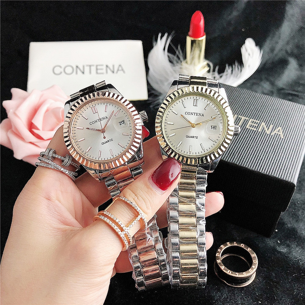 YUNAO Quartz Watch Gear Peripheral Large Dial Female Watch Campus Style Small Fresh Watch Personality Fashion Ladies Watch enlarge